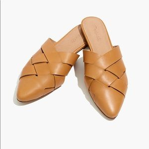 MADEWELL || 8.5 Leather Mules - Tan